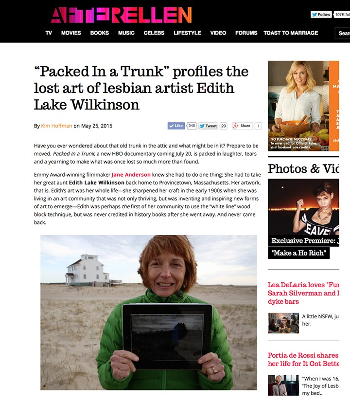 PACKED IN A TRUNK on AfterEllen.com