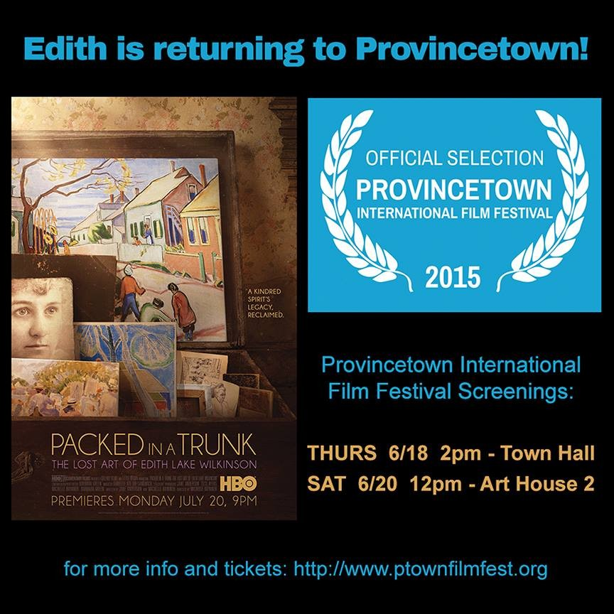 PACKED IN A TRUNK-- Edith is returning to Provincetown!